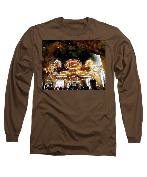 Carousle Bar At The Hoel Monteleone Long Sleeve T-Shirt