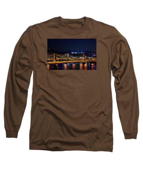 Carson Bridge At Night Long Sleeve T-Shirt