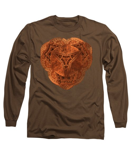 Long Sleeve T-Shirt featuring the digital art Carved by Lyle Hatch