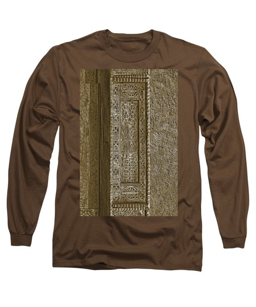 Long Sleeve T-Shirt featuring the photograph Carving - 5 by Nikolyn McDonald