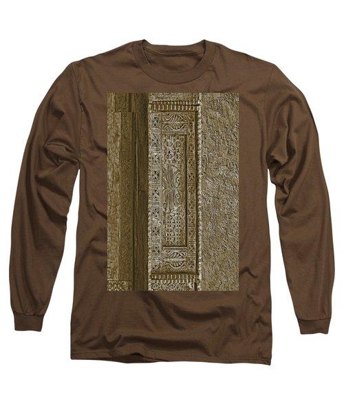 Carving - 5 Long Sleeve T-Shirt by Nikolyn McDonald