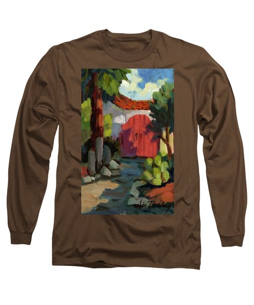 Casa Tecate Gate Long Sleeve T-Shirt by Diane McClary