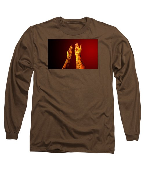 Cash On Hand Long Sleeve T-Shirt by Christopher Woods