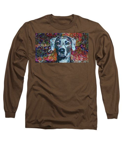 Cash The Blue Lacy Dog Long Sleeve T-Shirt