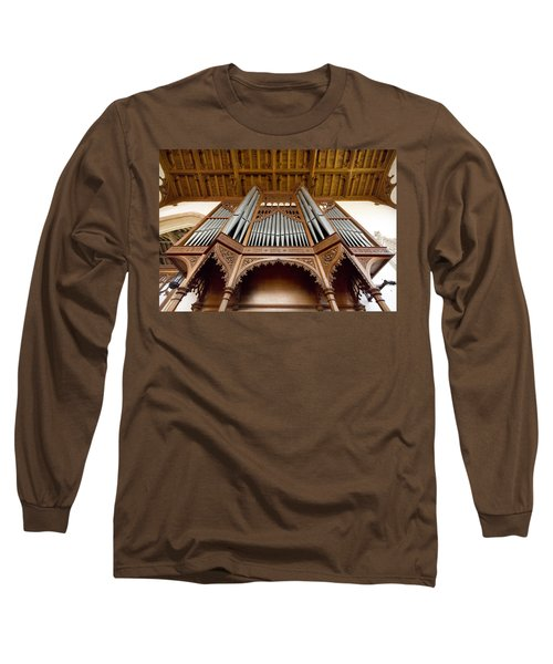 Castle Ashby Pipe Organ Long Sleeve T-Shirt