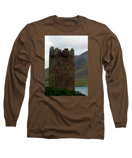 Castle Of The Pirate Queen Long Sleeve T-Shirt by Patricia Griffin Brett