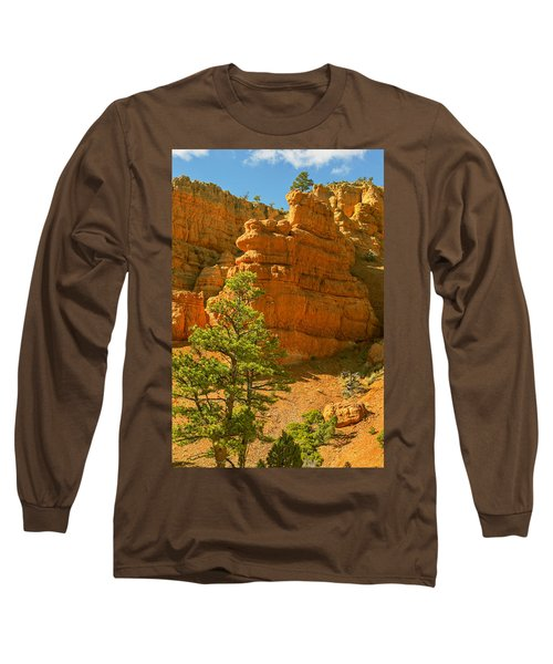 Long Sleeve T-Shirt featuring the photograph Casto Canyon by Peter J Sucy