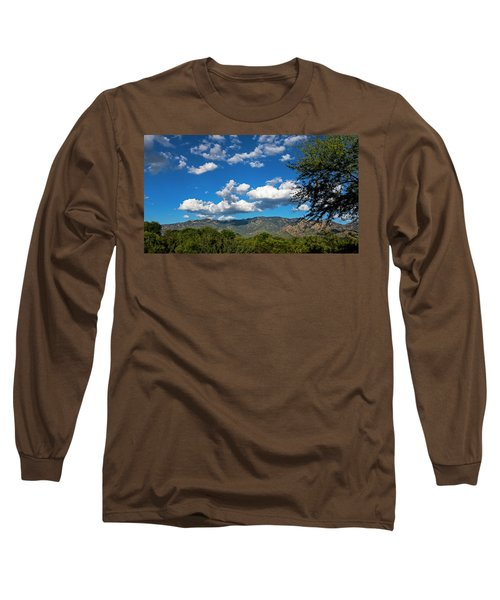 Long Sleeve T-Shirt featuring the photograph Catalina Mountains H48 by Mark Myhaver