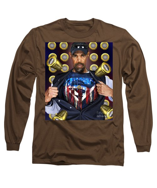 Catching Bullets They Think We Supermen Because Still We Rise Long Sleeve T-Shirt