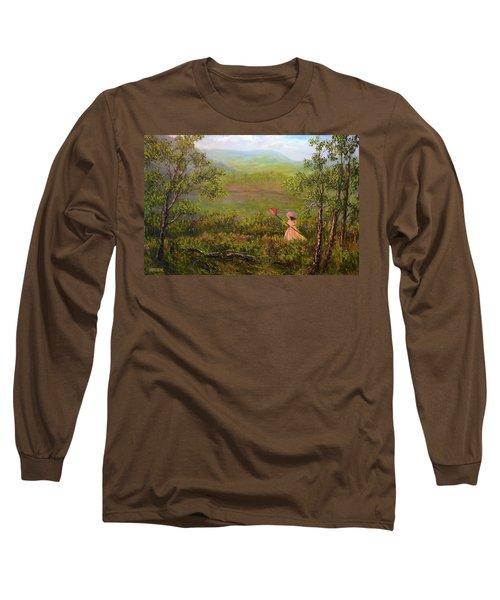 Catching Butterflys Long Sleeve T-Shirt