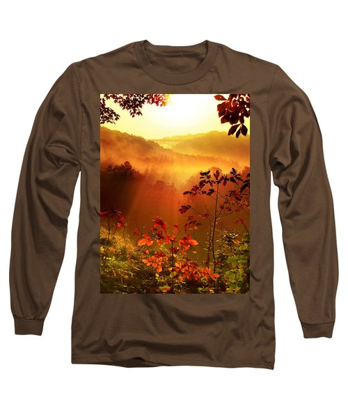 Cathedral Of Light - Special Crop Long Sleeve T-Shirt
