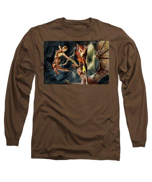 Caverns Of Light Long Sleeve T-Shirt by Glenn Feron