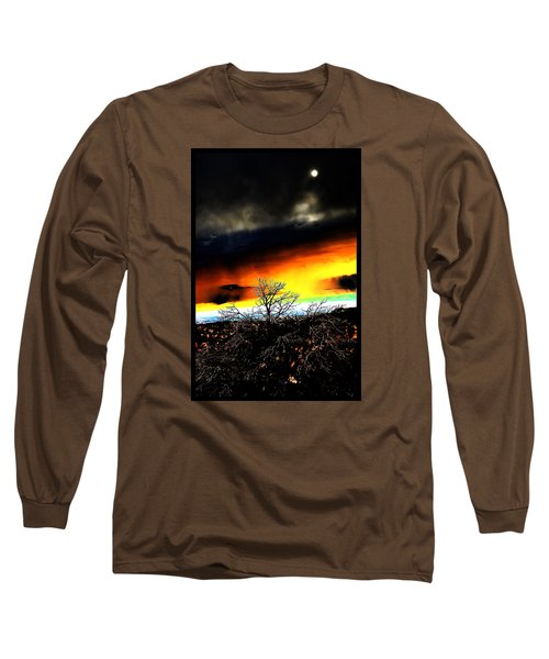 Long Sleeve T-Shirt featuring the photograph Celestial Tsunamis by Susanne Still