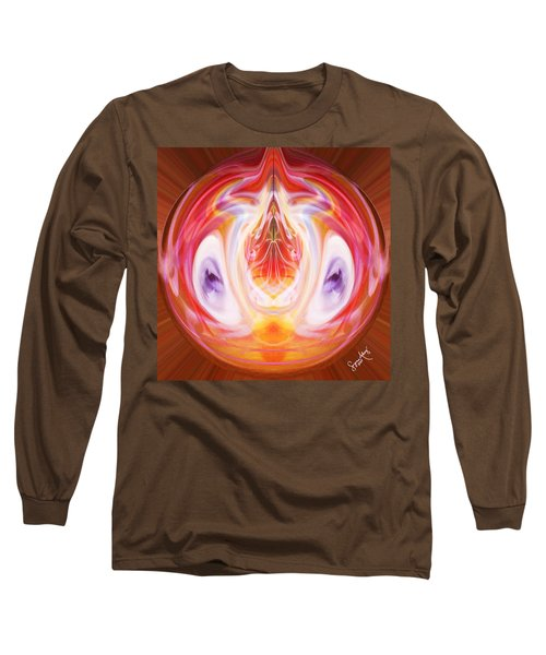 Centered And Connected Long Sleeve T-Shirt