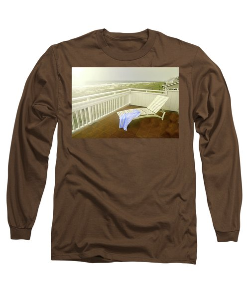 Chaise Lounge Long Sleeve T-Shirt by Diana Angstadt