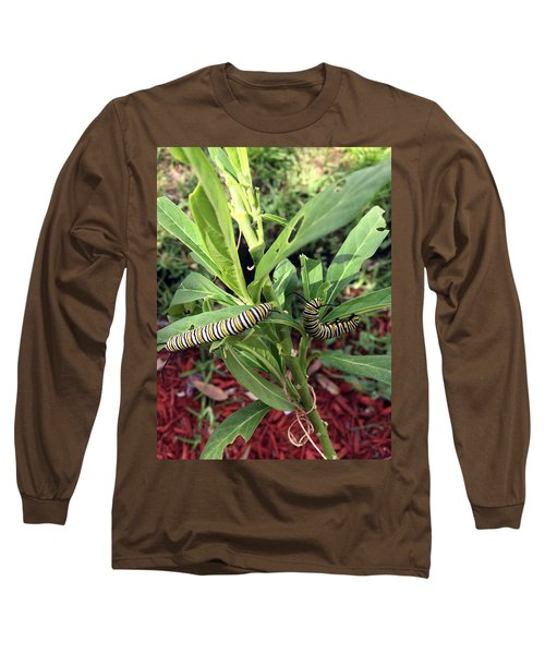 Change Is Coming Long Sleeve T-Shirt by Audrey Robillard