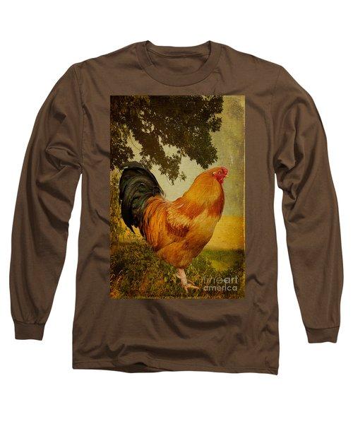 Chanticleer Long Sleeve T-Shirt by Lois Bryan