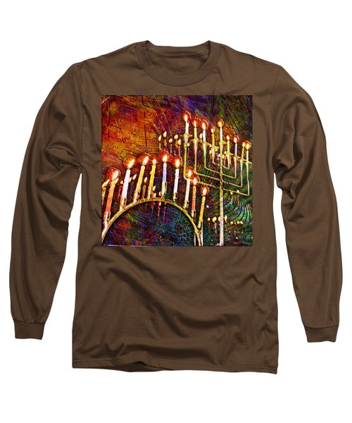 Chanukiah Long Sleeve T-Shirt
