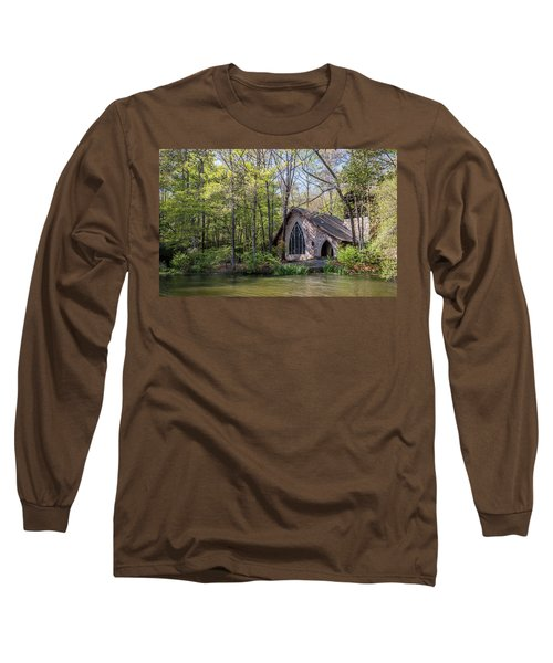 Chapel In The Woods Long Sleeve T-Shirt