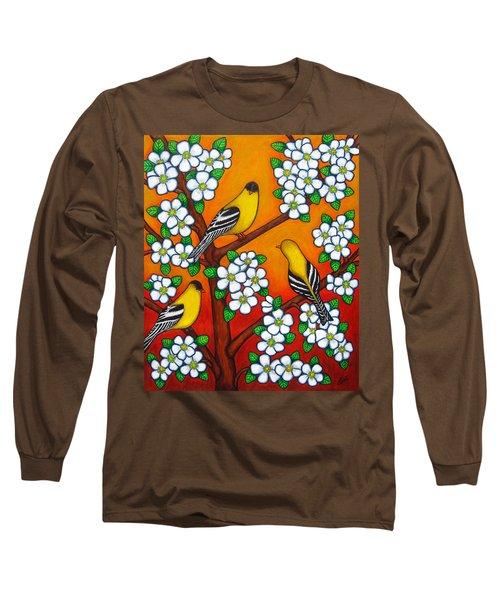 Chardonnay Sunset Long Sleeve T-Shirt