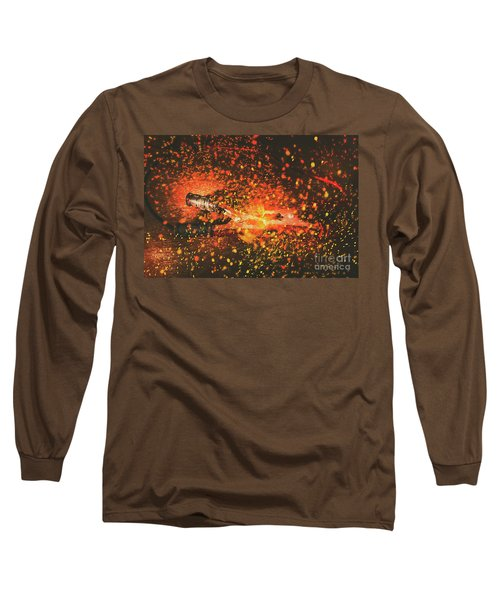 Charged Up Workshop Art Long Sleeve T-Shirt