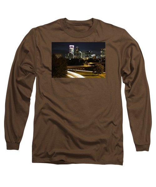 Charlotte's Skyline Long Sleeve T-Shirt by Demetrai Johnson