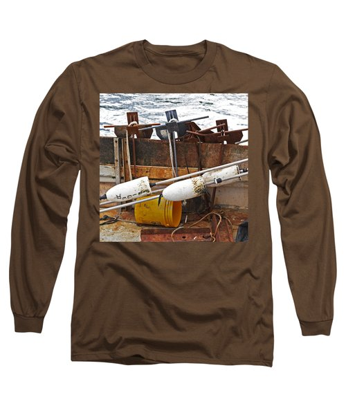 Long Sleeve T-Shirt featuring the photograph Chatham Fishing by Charles Harden