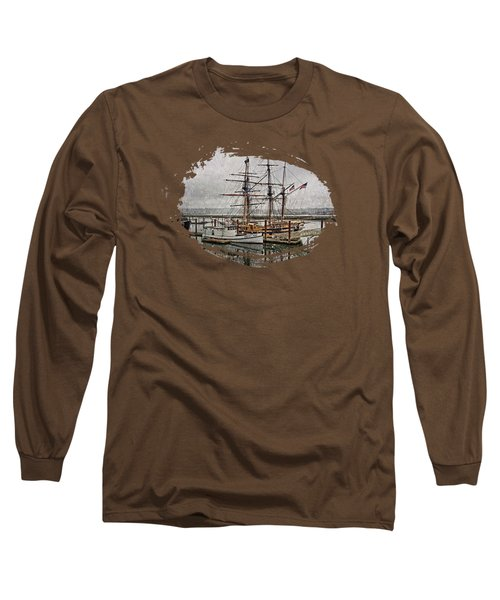 Chelsea Rose And Tall Ships Long Sleeve T-Shirt