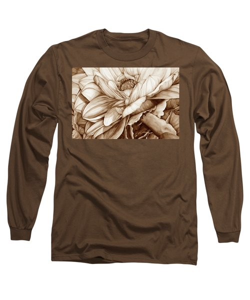 Chelsea's Bouquet 2 - Neutral Long Sleeve T-Shirt