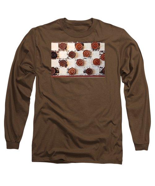 Chequer Board Long Sleeve T-Shirt