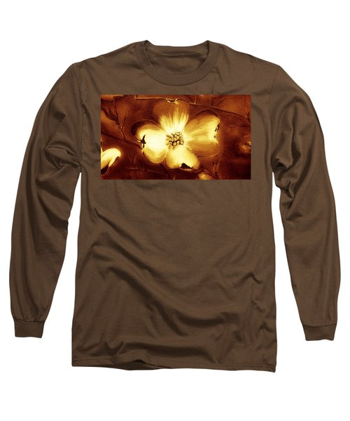 Cherokee Rose Dogwood - Single Glow Long Sleeve T-Shirt