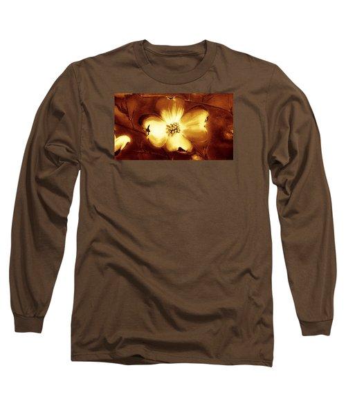 Cherokee Rose Dogwood - Single Glow Long Sleeve T-Shirt