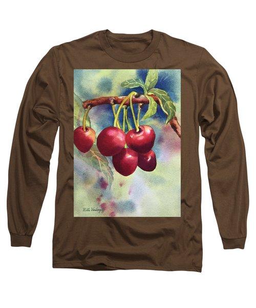 Cherries Long Sleeve T-Shirt
