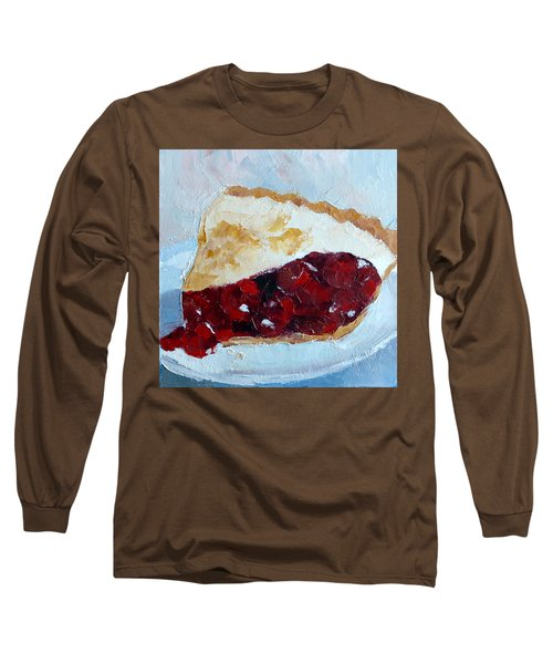 Cherry Pi Long Sleeve T-Shirt by Susan Woodward