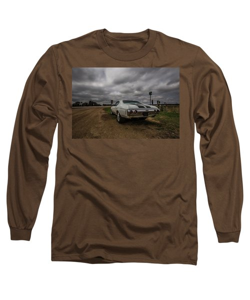 Long Sleeve T-Shirt featuring the photograph Chevelle Ss by Aaron J Groen