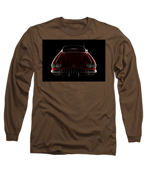 Chevrolet Corvette C1 - Front View Long Sleeve T-Shirt
