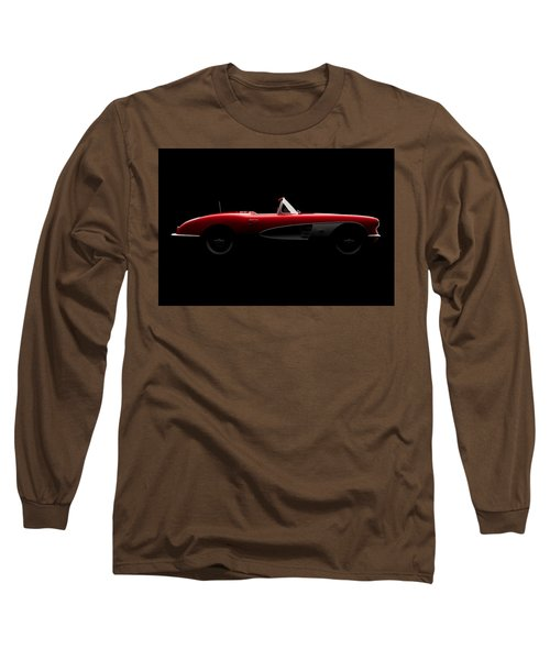 Chevrolet Corvette C1 - Side View Long Sleeve T-Shirt