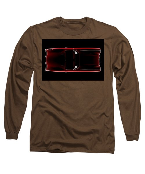 Chevrolet Corvette C1 - Top View Long Sleeve T-Shirt