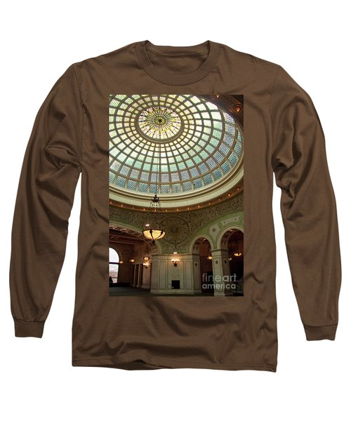Chicago Cultural Center Dome Long Sleeve T-Shirt