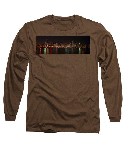 Chicago Panoramic Long Sleeve T-Shirt