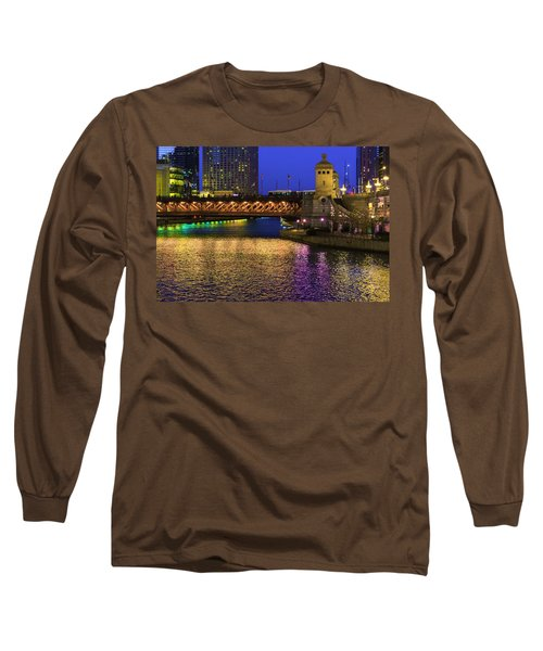 Chicago River Ver2 Long Sleeve T-Shirt