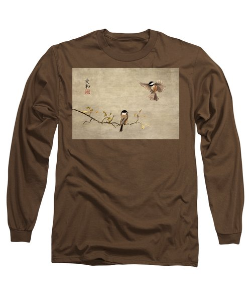 Chickadee Encounter II Long Sleeve T-Shirt