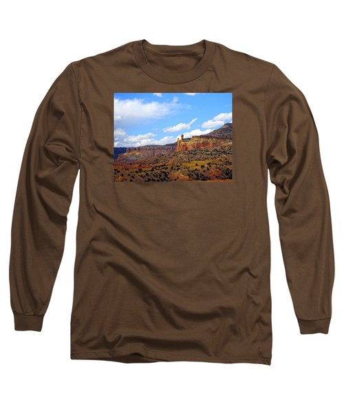 Chimney Rock Ghost Ranch New Mexico Long Sleeve T-Shirt