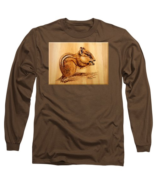 Chippies Lunch Long Sleeve T-Shirt by Ron Haist