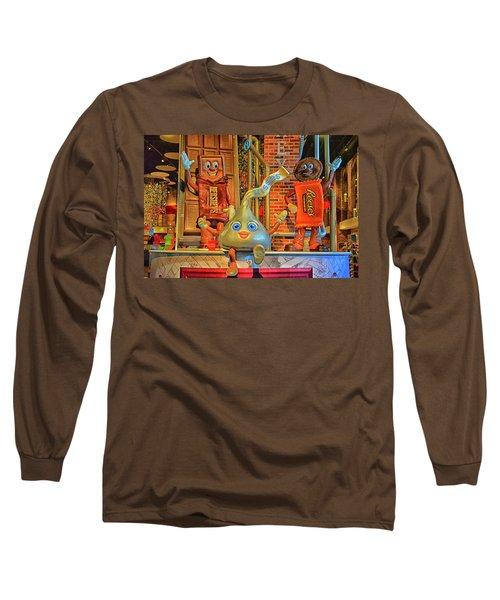 Chocaholics Unite Long Sleeve T-Shirt