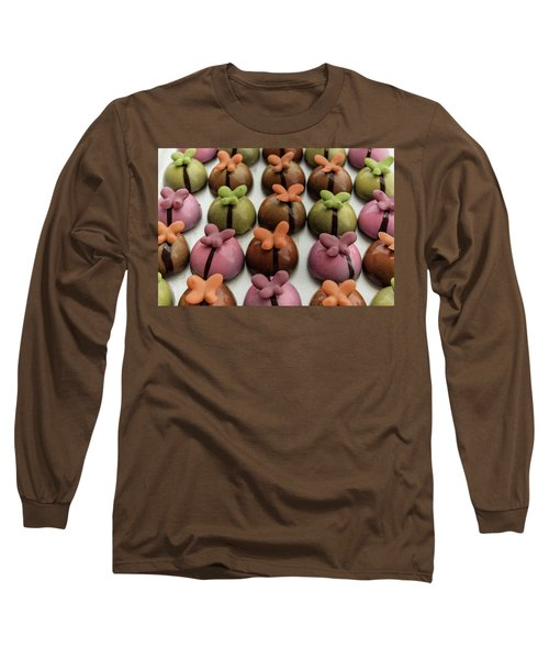 Chocolate Butterflies Long Sleeve T-Shirt