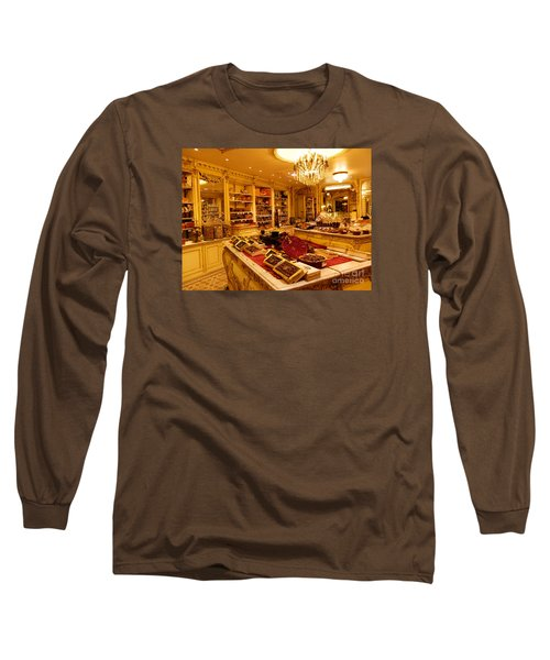 Chocolate Shop Long Sleeve T-Shirt