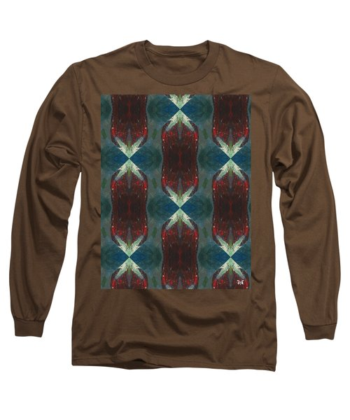 Christmas Crackers Surprise Long Sleeve T-Shirt by Maria Watt