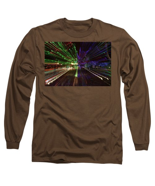 Christmas Exploding Long Sleeve T-Shirt