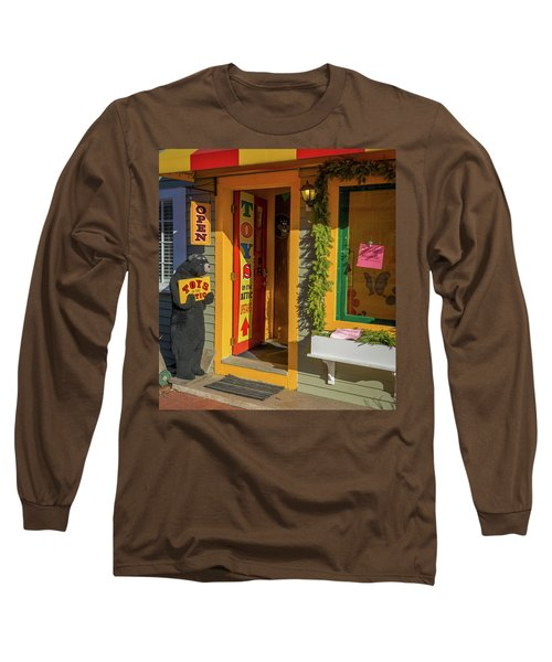 Christmas Toys In The Attic Long Sleeve T-Shirt